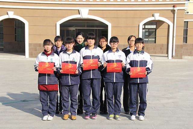 """我校初中部学生 在""""我的中国梦""""全国中学生读书征文活动中获奖"""