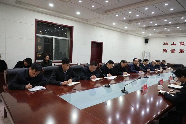 县教体局党组到昌乐一中调度高中教学工作